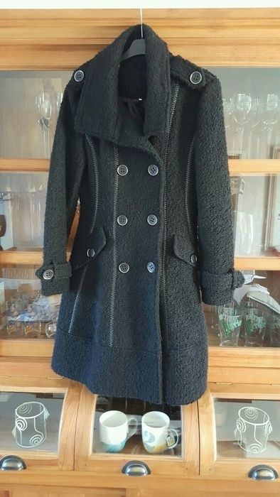 Manteau noir Patrice Bréal