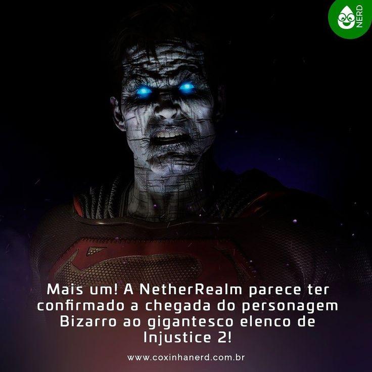 """#CoxinhaNews Mais um! A NetherRealm parece ter confirmado a chegada do personagem Bizarro ao gigantesco elenco de Injustice 2! Em seu Twitter a desenvolvedora revelou a imagem de cima junto da clássica frase: """"Bizarro é o número um não o Superman"""". #timelineacessivel #Pracegover   TAGS: #coxinhanerd #nerd #geek #geekstuff #geekart #nerd #nerdquote #geekquote #curiosidadesnerds #curiosidadesgeeks #coxinhanerd #coxinhagames #games #jogos #dccomics #dcgames #injustice #injustice2 #netherrealm…"""