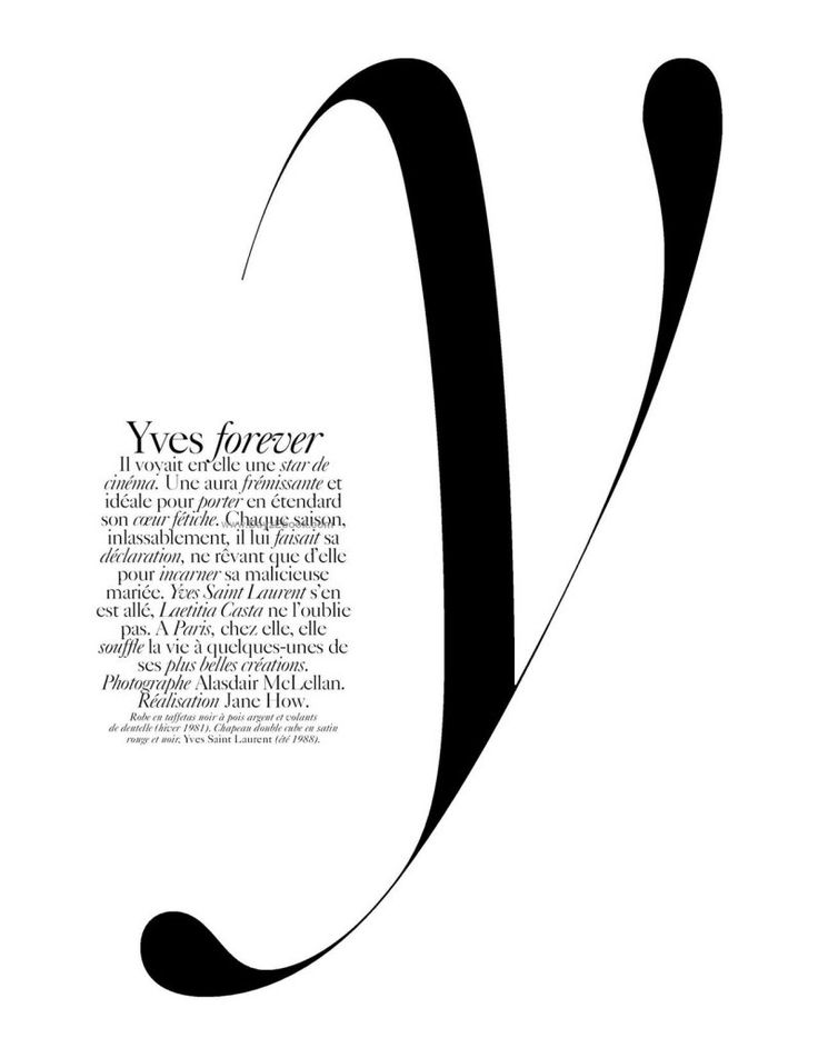 style and fashion and design inspiration - here, visualized in typography!