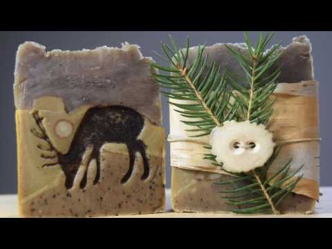 Rustic soap and packaging challenge - YouTube