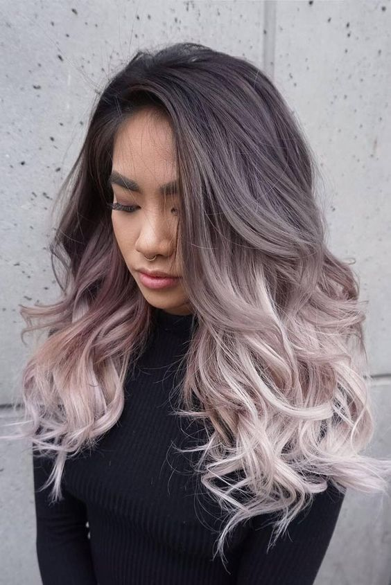 umbre hair style 25 best ideas about grey ombre hair on grey 2463 | 502672754849ba89af85b9827c26b62c