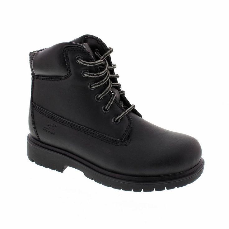Deer Stags Boys' Mak 2 Hiking Boots, Size: medium (13.5), Black