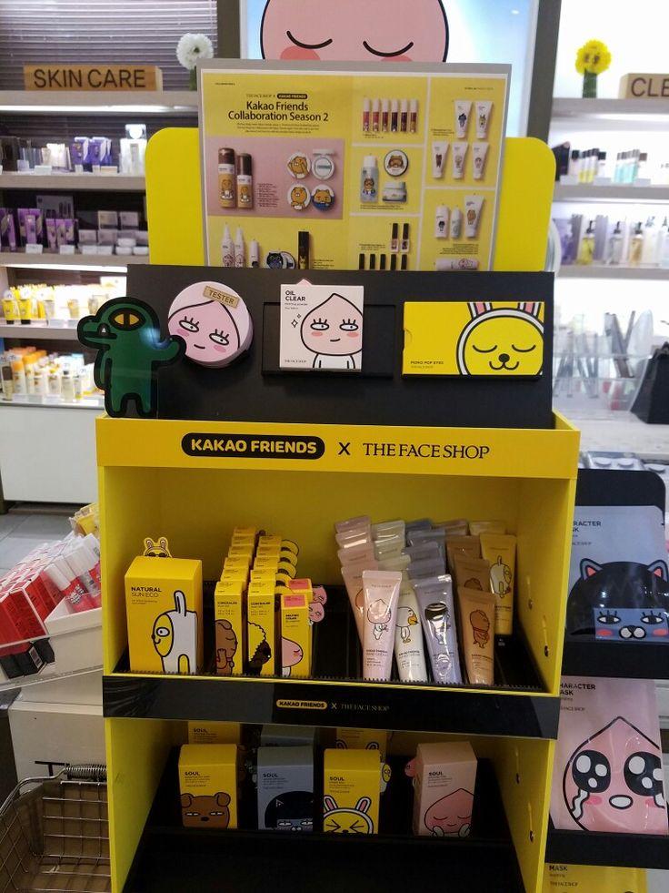 Kakao friends skin care. #Face shop.
