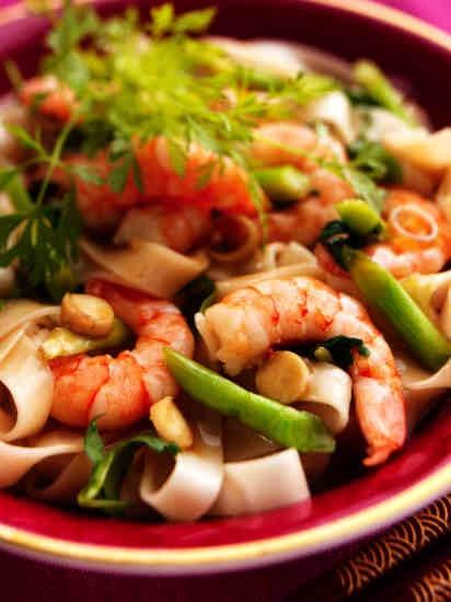 Receta de espaguetis con langostinos #Cantabria #Spain #Travel #Food # ...
