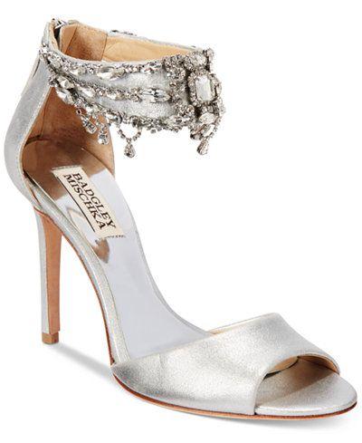 690e52165fc8 Badgley Mischka Denise II Ankle-Strap Sandals · Glitzernde SandalenKnöchelriemen  SchuheAbendschuheSchöne ...