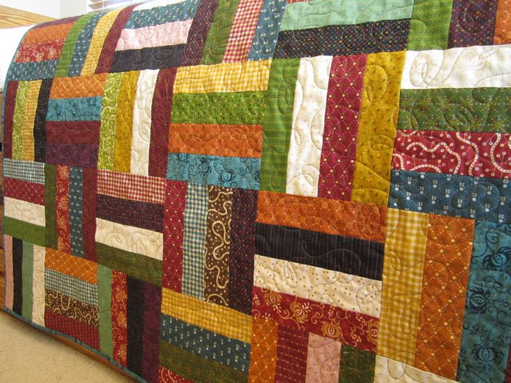 Easy Quilt Patterns Rail Fence : 25+ best ideas about Rail Fence Quilt on Pinterest Easy quilt patterns, Quilt patterns and ...