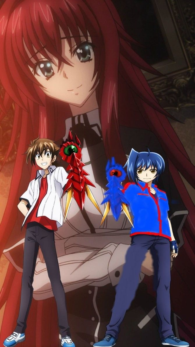 The Dragon Emperor And The Ruin Princess With Images Dxd