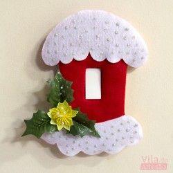 Como decorar seu interrupor para o Natal                                                                                                                                                                                 Mais