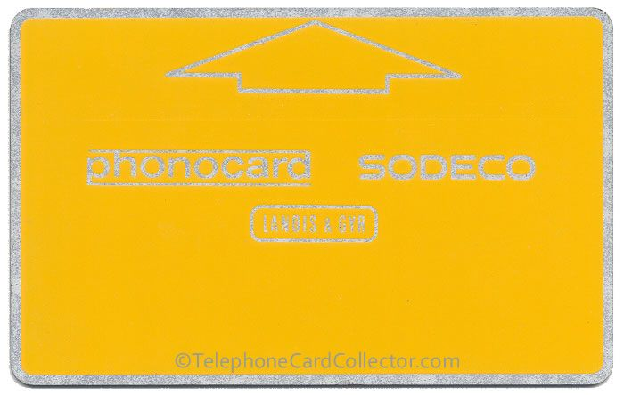 Sodeco Phonocard for use ONLY in the Swiss Federal Parliamentary Building in Bern, Switzerland. This card was issued in the early eighties and has a control number of 311622.
