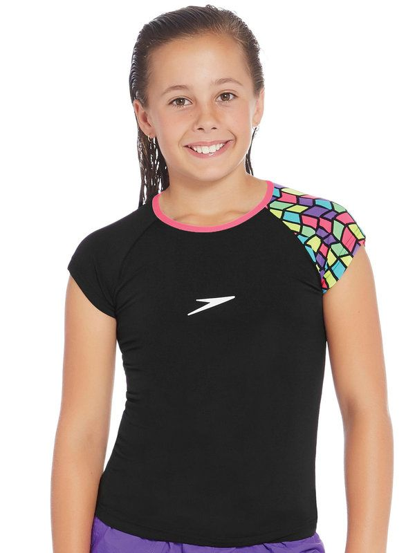 Speedo Neo Geo Girls Sun Top 1