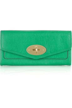 Mulberry Postman's Lock Continental wallet.