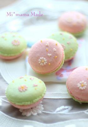「さくらマカロン」setsuko♪ | お菓子・パンのレシピや作り方【corecle*コレクル】