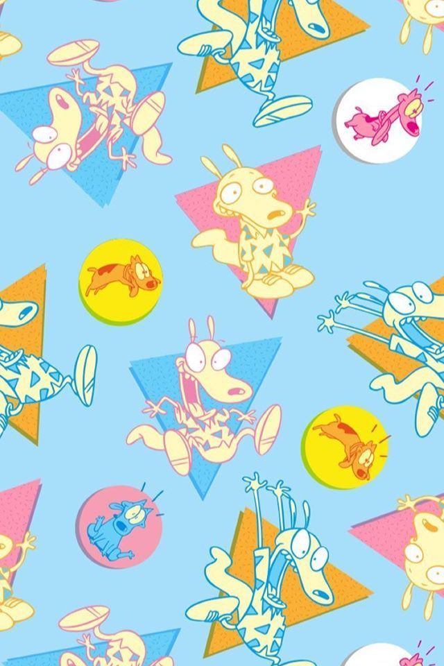 Rocko Moderns Life Nickelodeon Wallpaper Iphone X Wallpaper