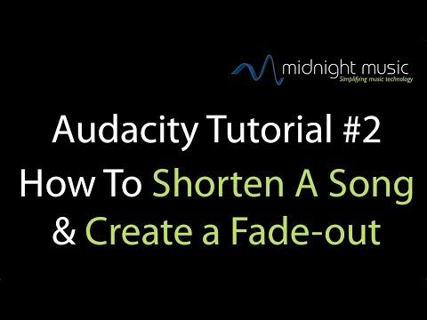 Audacity Tips for Music Teachers Part 1 and 2 | Midnight Music