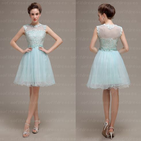lace Homecoming dresses, modest homecoming dresses, junior homecoming dress, cheap homecoming dress, dresses for homecoming, 17611 · OkBridal · Online Store Powered by Storenvy