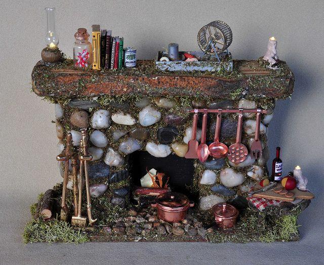 Fairy House Fireplace