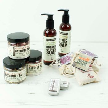 The organic soapnut range.