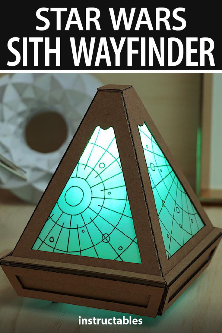 Make a simple Star Wars Sith Wayfinder from the latest movie, Star Wars: The Rise of Skywalker, using cardboard. Diy Resin Crafts, Cardboard Crafts, Diy And Crafts, Diy Lightsaber, Star Wars Bedroom, Star Wars Crafts, Star Wars Sith, Star Wars Wallpaper, Star Wars Birthday