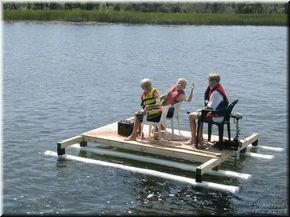 Homemade PVC Raft Omg My Dad Would Have Totally Made This