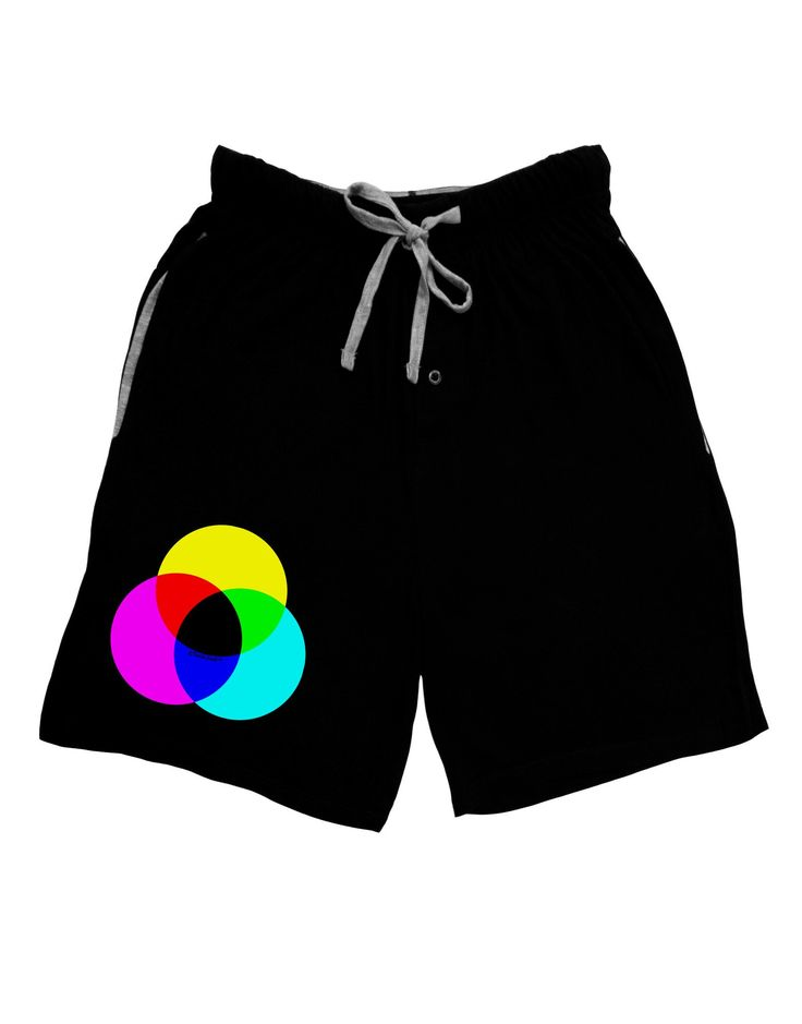 CMYK Color Model Adult Lounge Shorts by TooLoud