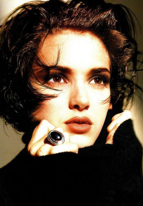 90s style- winona ryder                                                                                                                                                      More