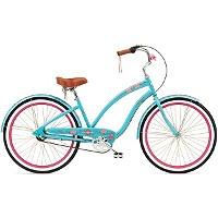Halfords | Electra Om 3i Cruiser Bike - Ladies/Jade