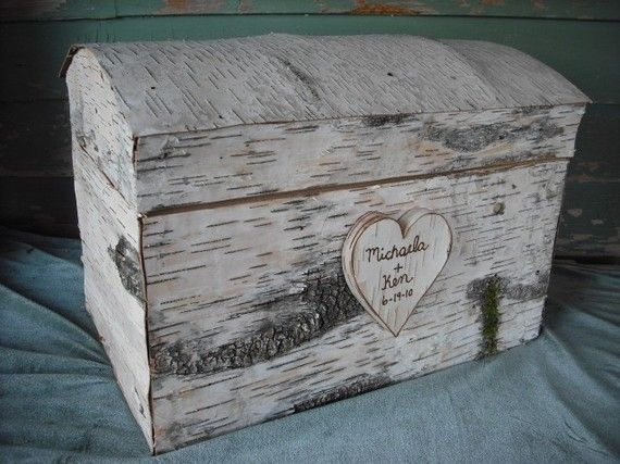 perfect for a rustic wedding card holder. or a love box :)