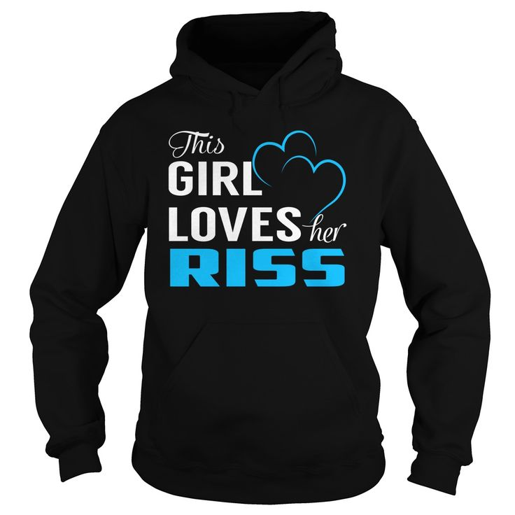 This Girl Loves Her RISS - Last Name, Surname T-Shirt