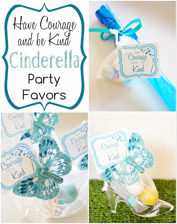 DIY Cinderella Party Favors with Free Printables