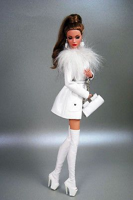 HABILISDOLLS outfit clothes boots for Fashion Royalty, FR2, Barbie, Jem dolls. Love this look!