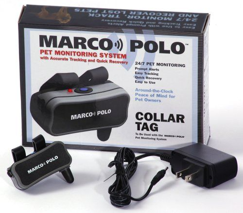Collar Tag Accessory for Marco Polo Pet Monitoring/Tracking and Locating System * You can get additional details at the image link.