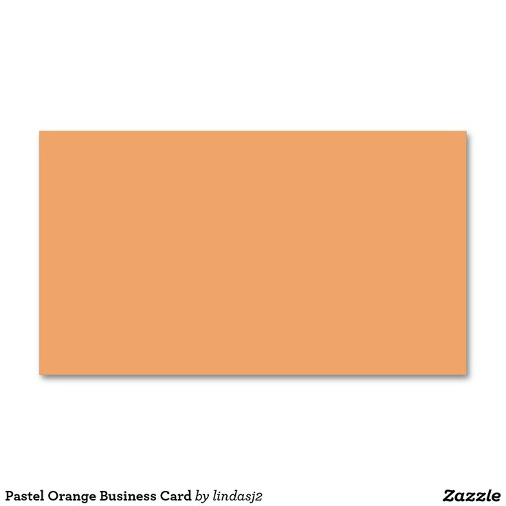 60 best zazzle business cards images on pinterest business cards pastel orange business card reheart Gallery