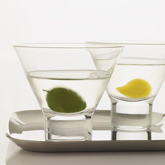 Martini | This recipe is adapted from the version in George Kappeler's 1895 Modern American Drinks. It was originally made with Old Tom gin, a sweetened gin unlike the London dry gin in the present-day martini.