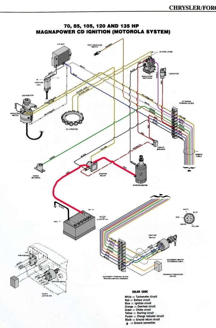 1997 Mercury Outboard Wiring Diagram
