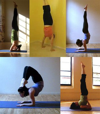 bound headstand  yoga poses perspective and strength