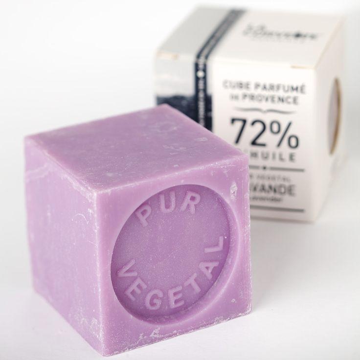 Le Petit Cube de Savon de Marseille Olive 100g savon naturel et artisanal 100% Olive et 0% huile de palme made in Marseille par La Corvette.