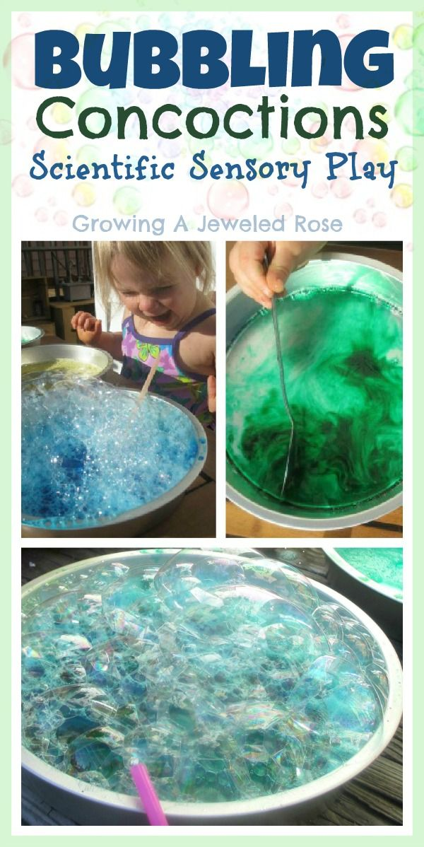 Fun Scientific Sensory Play with Bubbling Concoctions