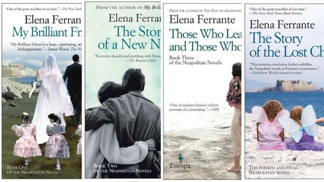 Elena Ferrante, Neopolitan Series - 3 Books by Same Author