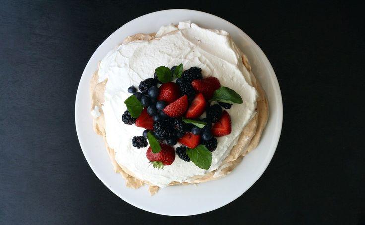 Pavlova givré aux fruits rouges: recette et +