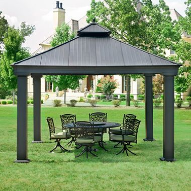 Sam S Club Patio And Gazebo On Pinterest
