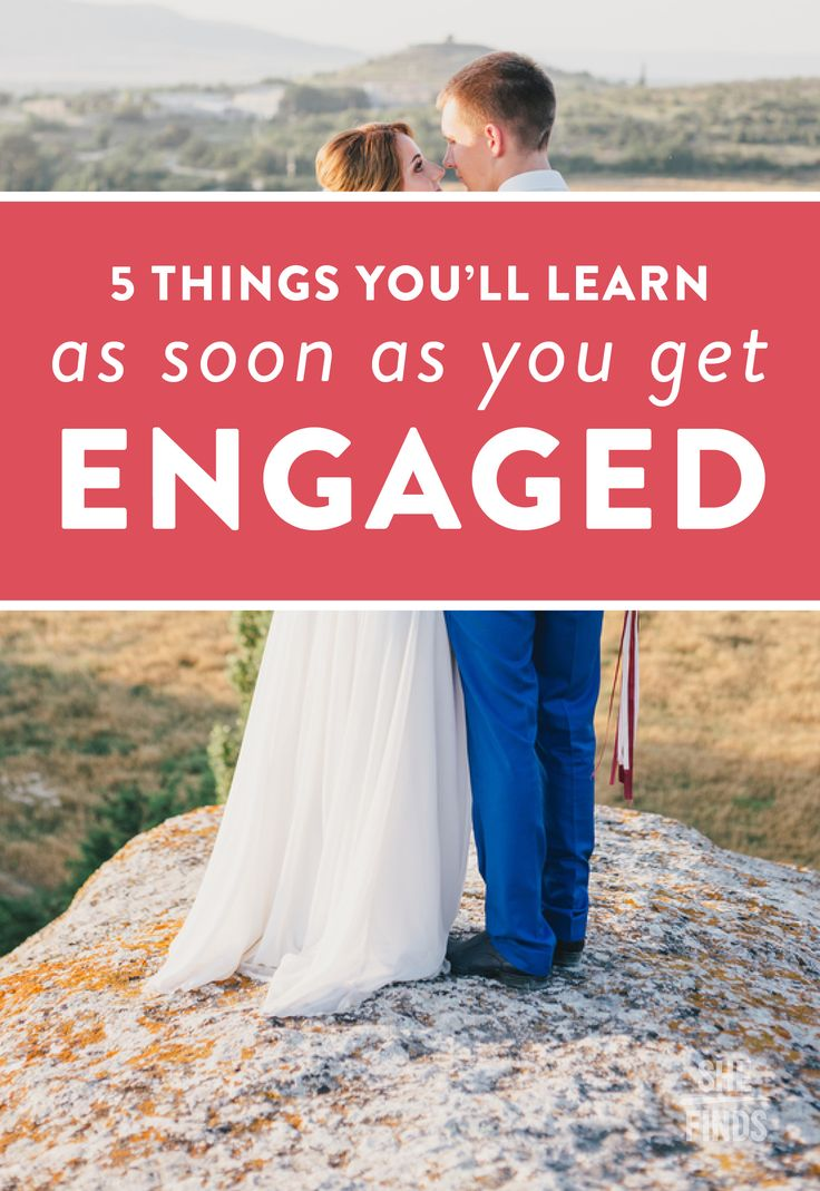 5 Things You'll Learn As Soon As You Get Engaged