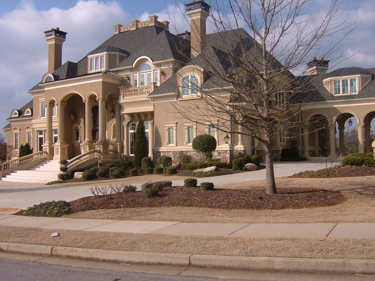 Atlanta Georgia Home Beautiful Homes Dreams Exterior