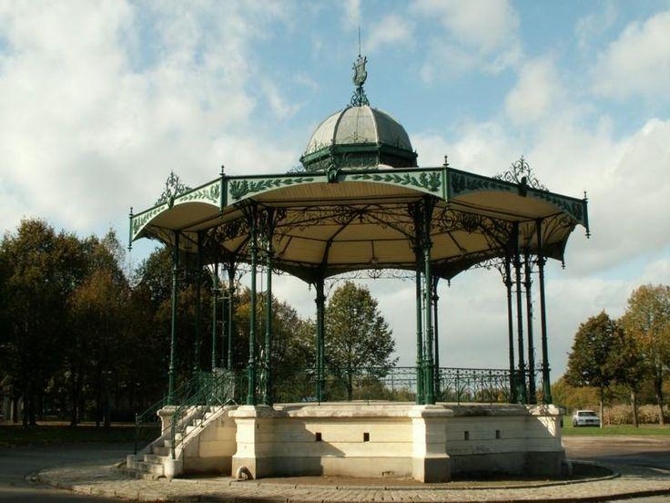 Kiosque à musique – Parc de la Hotoie – Amiens