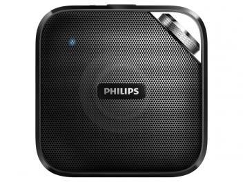 Caixa de Som Bluetooth Philips BT2500B/00 3W - USB Wireless Função Anticorte