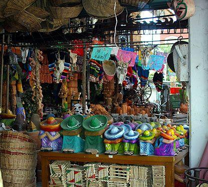 Cancun, Mexico Downtown Shopping
