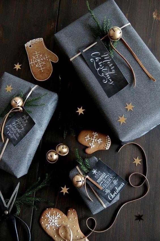 Hur slår du in dina julklappar? / Hjarterum Blogg