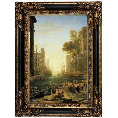 Astoria Grand Landscape With The Embarkment Of Saint Paula Romana