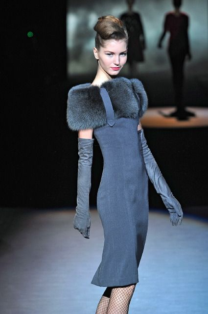 badgley mischka 2013 | Celebrity Fashion, Fur Style: 20s, 30s, 40s, 50s and Beyond ...