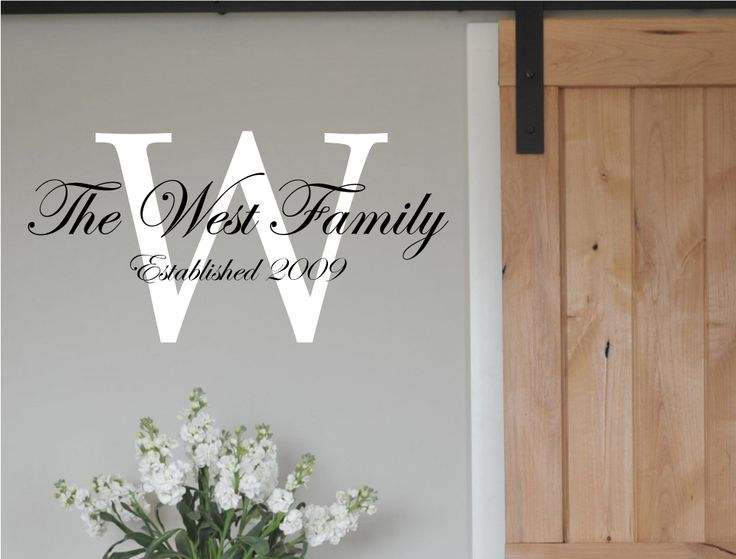 Best  Family Tree Wall Sticker Ideas On Pinterest Wall - Family monogram wall decals