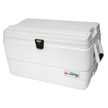 Ultra tough, the Igloo® Marine Ultra 72 Quart Cooler is made tough enough to stand up to the rigors of commercial boating use. Bombproof latches, hinges and hardware. Quality, durability and performance you can count on.
